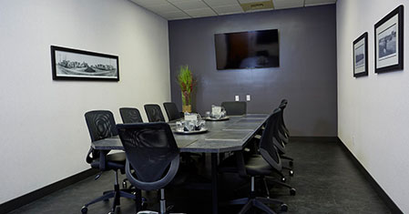 Audio Visual equipped meeting space in Saskatoon